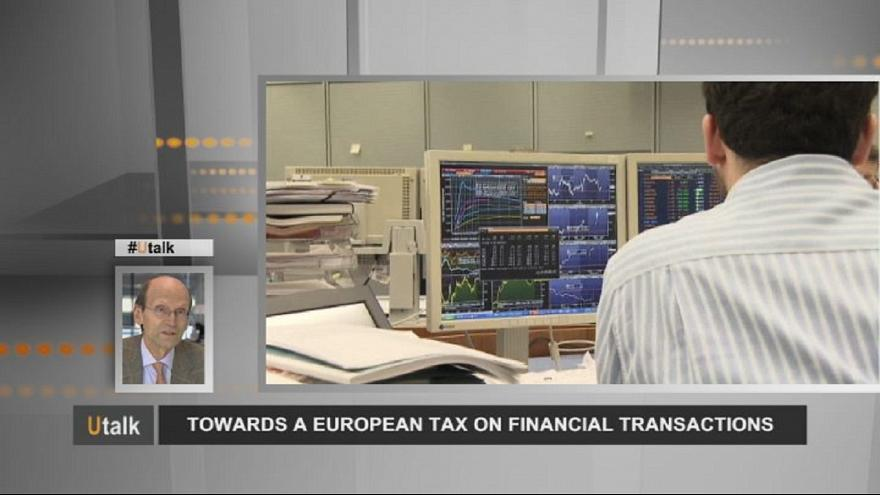 Steuern auf Finanzgeschäfte