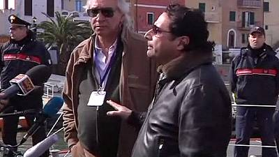 Costa Concordia captain boards wreck with accident investigators