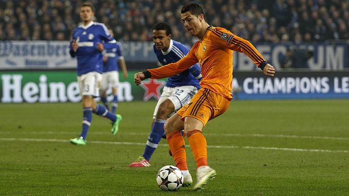 Лига чемпионов: испанцы лучше англичан