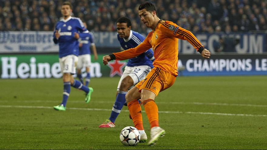 Champions League: Real Madrid and PSG win in Germany as English sides stutter