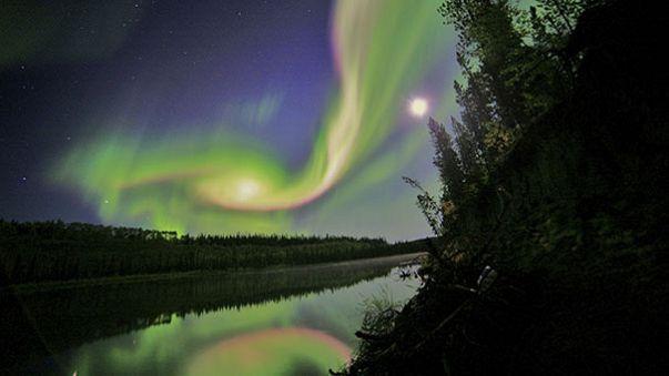 Auroras boreales en el Reino Unido debido al mal tiempo