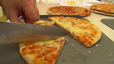 Zum Dahinschmelzen: Fettarmer Käse für unsere Pizza