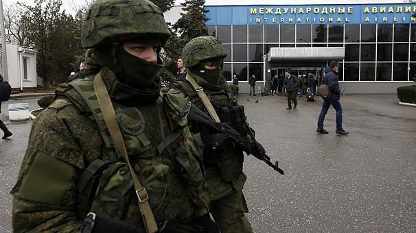 Ukraine's acting president demands Russia stops 'provocations' in Crimea