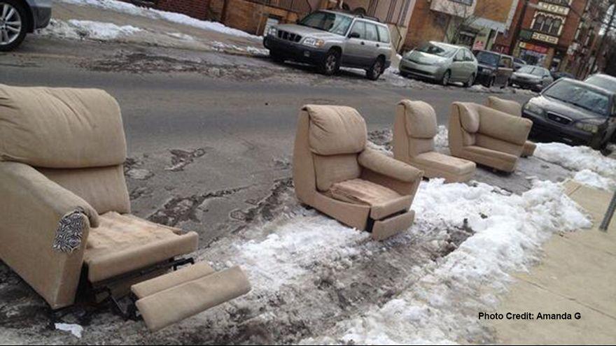 Филадельфия: твиты в борьбе с нарушителями правил парковки