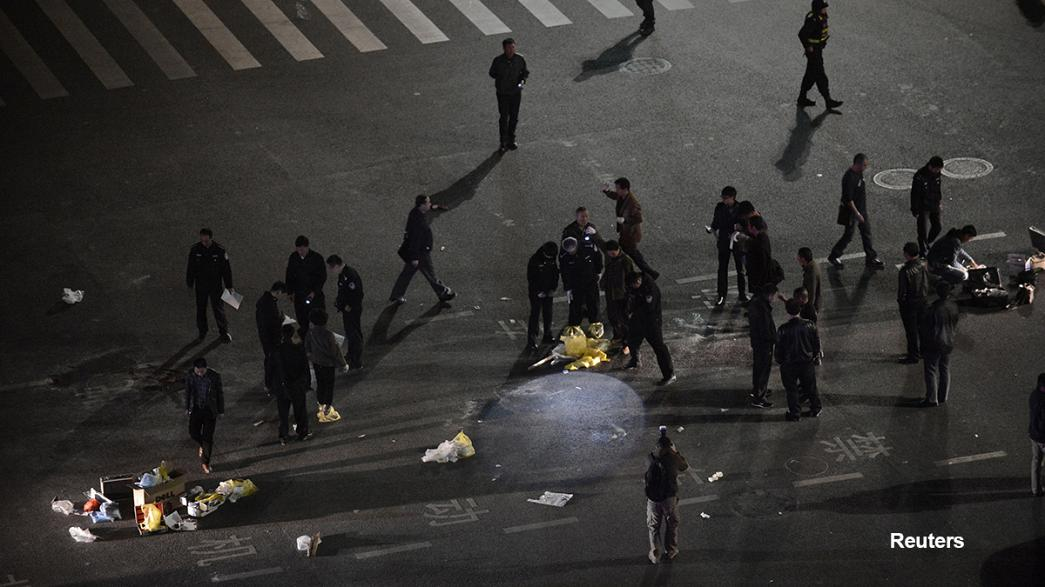 Xinhua: 27 Tote bei Messer-Attacke in chinesischem Bahnhof