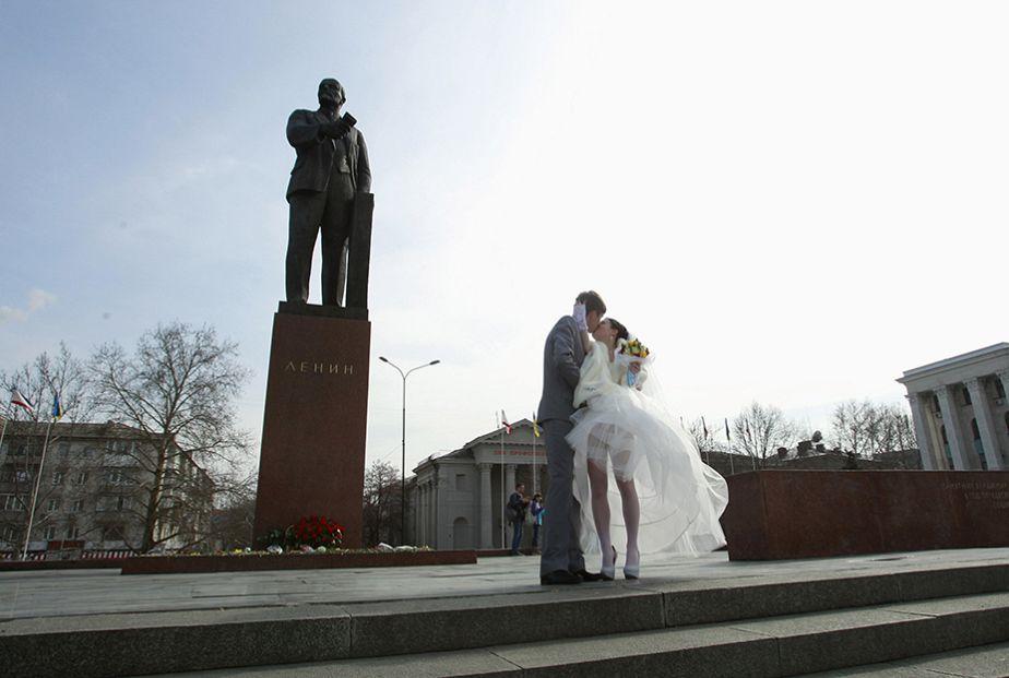 زفاف في شبه جزيرة القرم