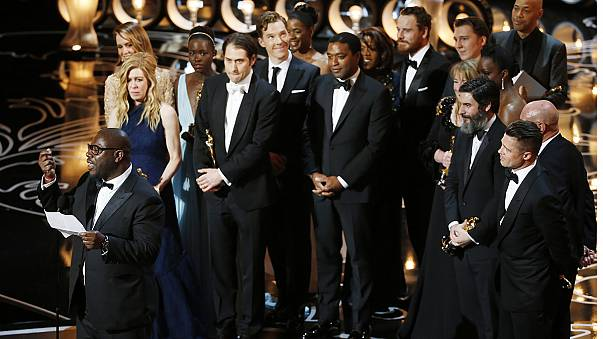 Oscars 2014: '12 Years a Slave' makes history with best picture Oscar