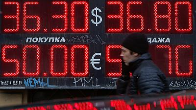 Russia rouble tumbles to historic low as Ukraine crisis intensifies