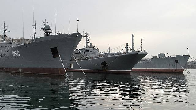 Russian Black Sea Fleet says no assault ultimatum in Crimea
