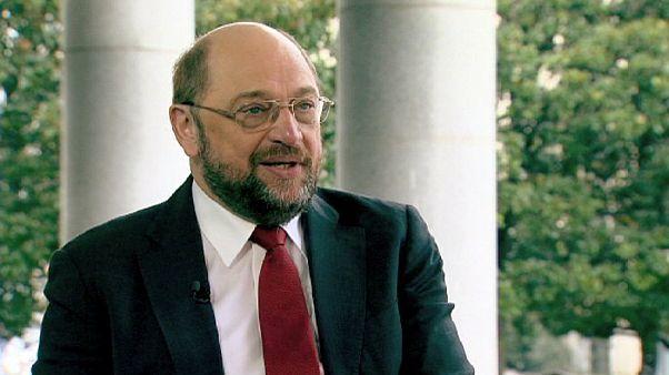 "Martin Schulz, candidato del Partido Socialista Europeo: ""Me presento para luchar contra el desempleo juvenil"""