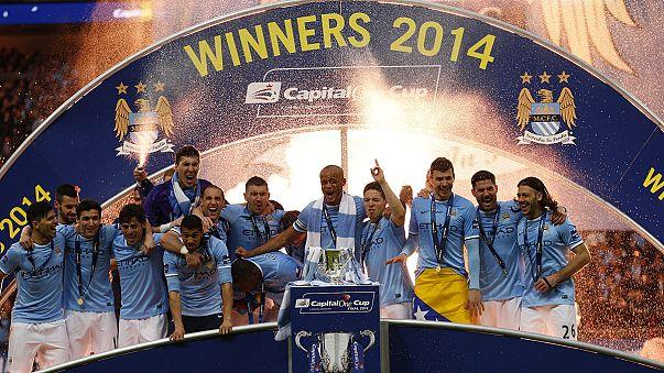 A ManCity az angol Ligakupa-győztes, a Bayern ismét hengerelt