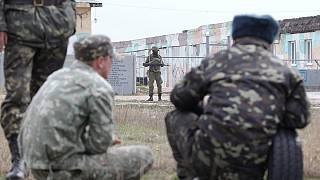 Ukraine as it happened: Moscow start talks with Kyiv under US and EU threats of sanctions