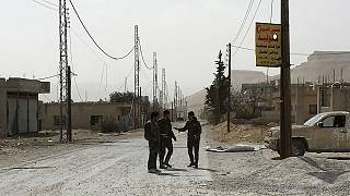 Syria: President al-Assad's forces focus efforts on strategic town near Lebanon