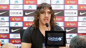 Puyol sai do Barça no final da época