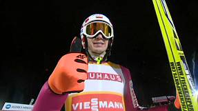 Pole Stoch leaps for glory in Finland