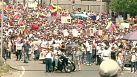 Más protestas en Caracas a un día del aniversario de la muerte de Chávez