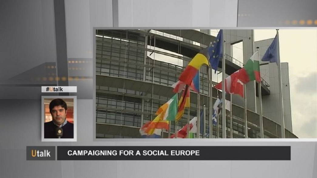 Campaña por una Europa social