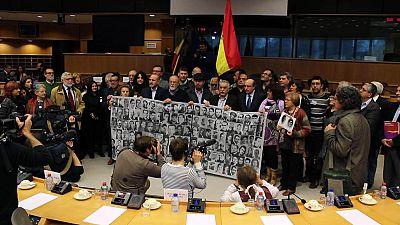Víctimas del franquismo piden amparo al Parlamento Europeo