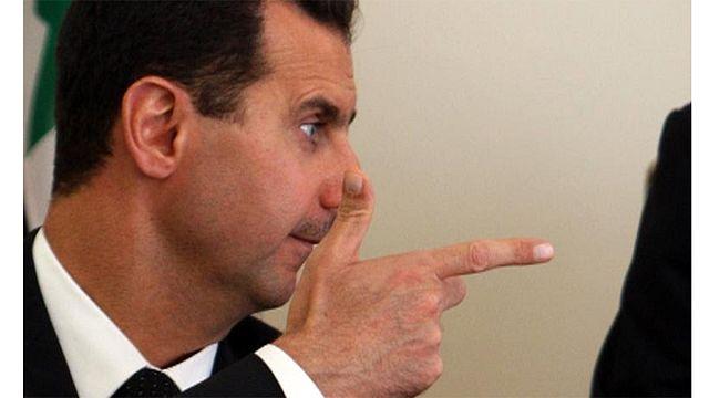 Syria's Assad expresses support for Putin on Ukraine