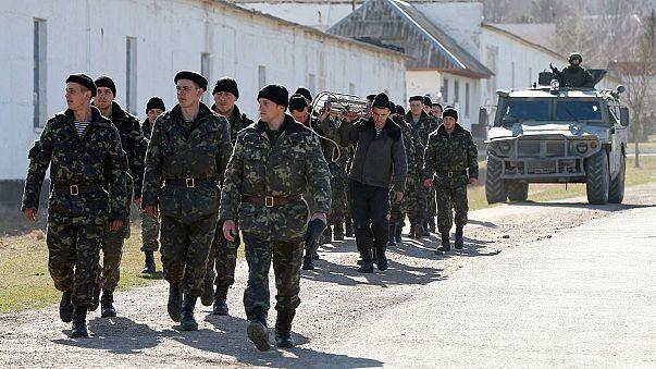 Crimea says it's part of Russia, Ukrainian troops 'occupiers'