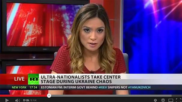 Russia Today Anchors Russia Today Anchor Resigns on