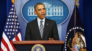 Obama says Crimea referendum would violate international law