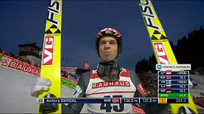 Ski jumping: Bardal flies to second win