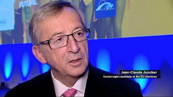 Jean-Claude Juncker, candidat à la présidence de la Commission européenne