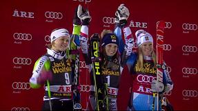 Alpine skiing: Fenninger claims Are Giant Slalom double