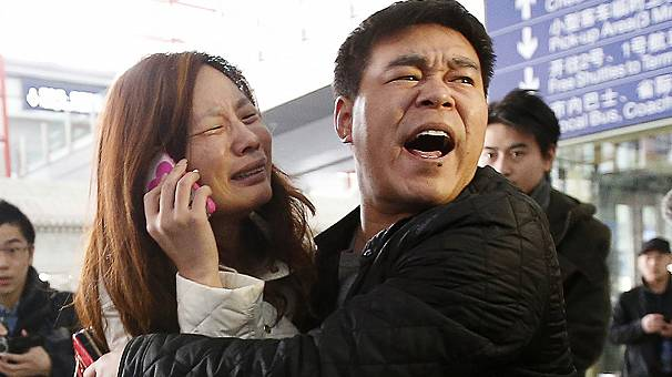 Missing Malaysia Airlines plane 'crashes off Vietnam'
