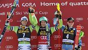 Gravity: Neureuther,Ligety y Shiffrin brillan con luz propia