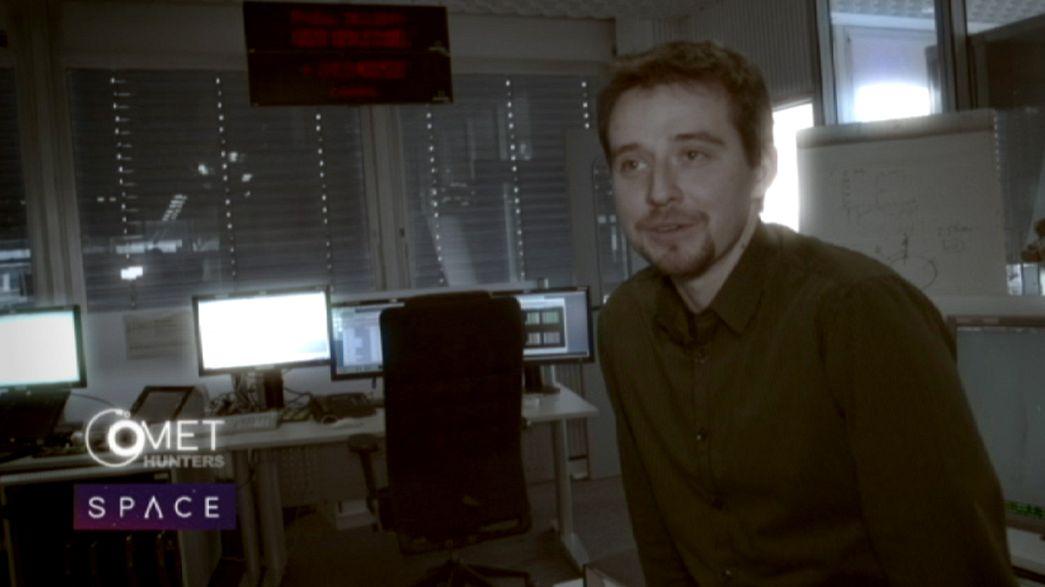 Comet Hunters: Intense mission planning