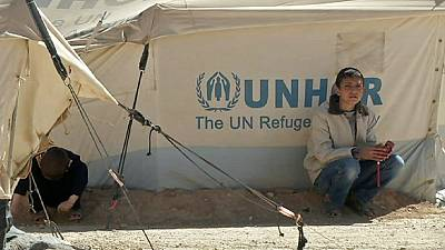 UN Refugee head cautions distraction over Syria.