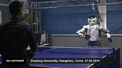 Ping pong playing robot – nocomment