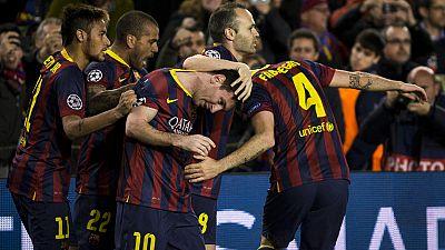 Atlético, Bayern, Barcelona y PSG esperan rivales en cuartos