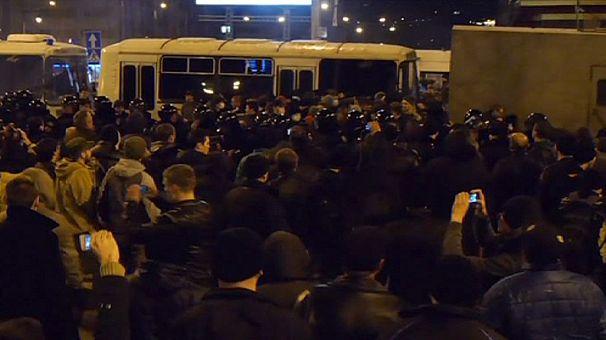 Donetsk calm after violent Thursday night