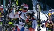 Swiss win team parallel slalom at home World Cup finals