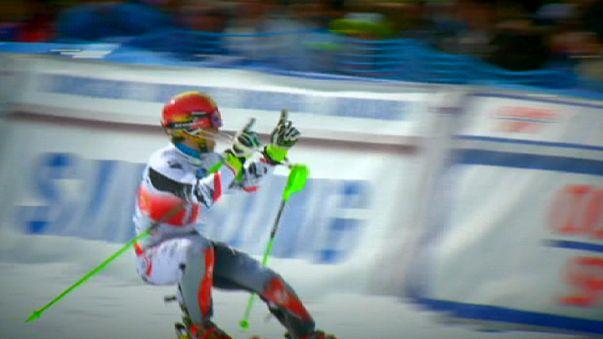 غرافيتي: تتويج مستحق لهرشر وفيننغر في اختتام بطولة العالم للتزلج الألبي