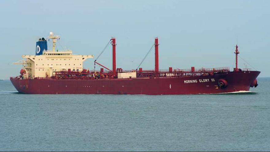 U.S. Navy Seals board tanker carrying oil from Libya rebel port