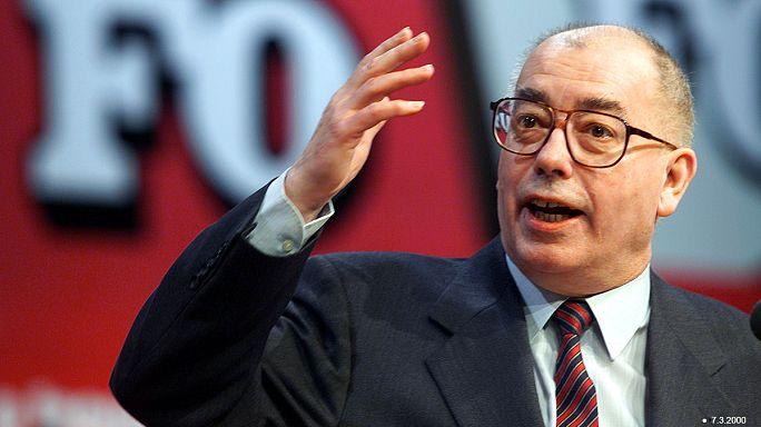 France : décès de Marc Blondel, ex-secrétaire général du syndicat Force ouvrière