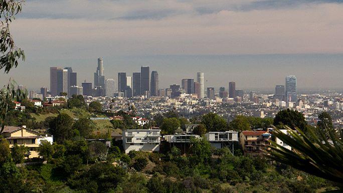 В Лос-Анджелесе произошло землетрясение