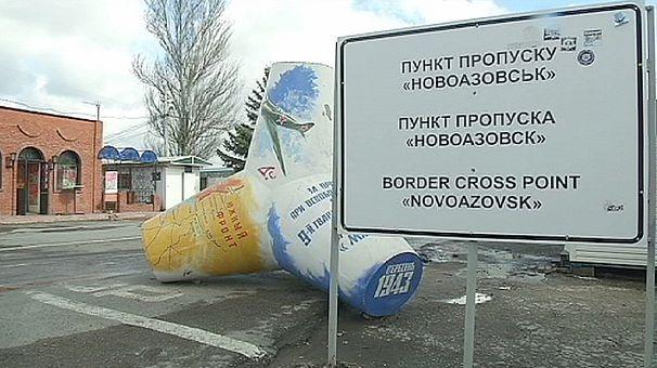 Ukraine steps up security at Novoazovsk border check point