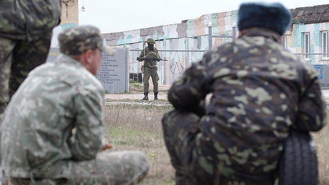 Confusión en torno a un asalto a una unidad militar ucraniana en Crimea