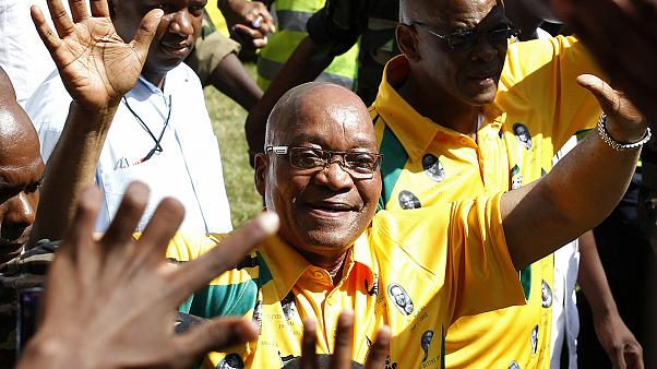 """Südafrikas Präsident Zuma ließ sich """"als Sicherheitsmaßnahme"""" auch einen Pool bauen"""