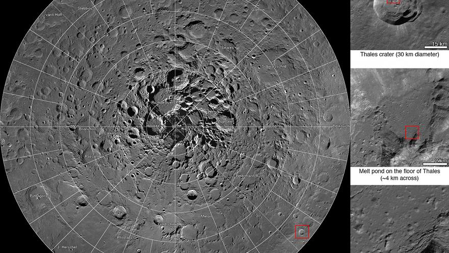 NASA releases first interactive mosaic of Lunar North Pole