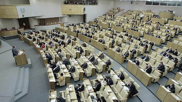 Russian lower house of parliament approves treaty annexing Crimea