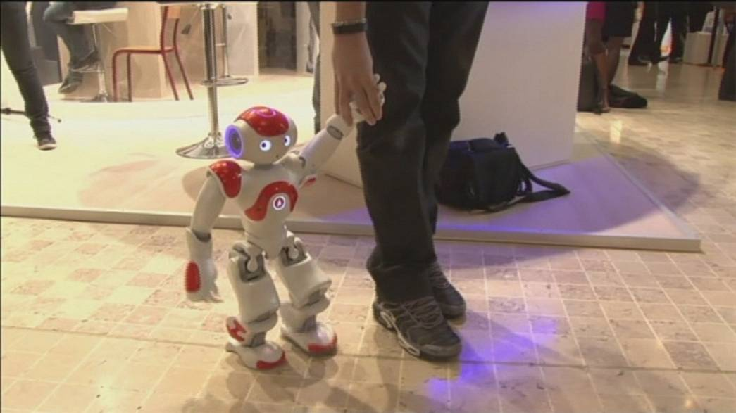 Innorobo : les robots tiennent salon à Lyon