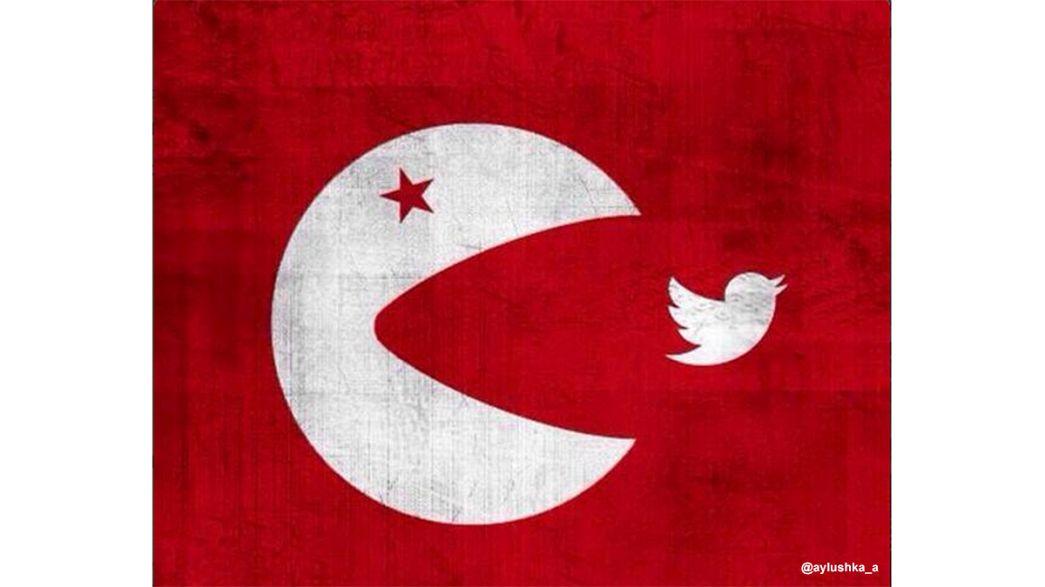 Turquia: Criatividade contra o bloqueio da rede social Twitter