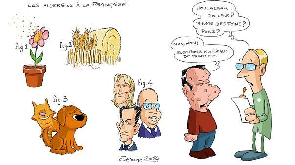 L'arrivée du printemps rend les Français allergiques...à la politique !
