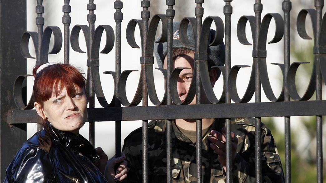 Украина начала передислокацию военнослужащих из Крыма